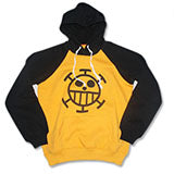 One Piece Trafalgar Law Pullover Hoodie