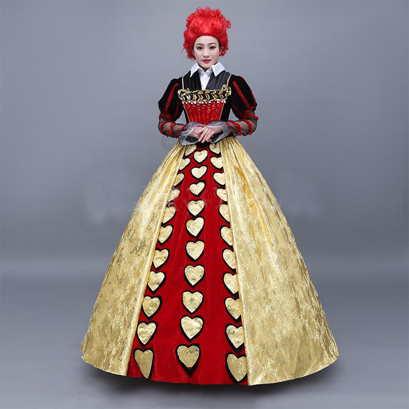 Tim Burton's Alice In Wonderland Queen of Hearts Costume