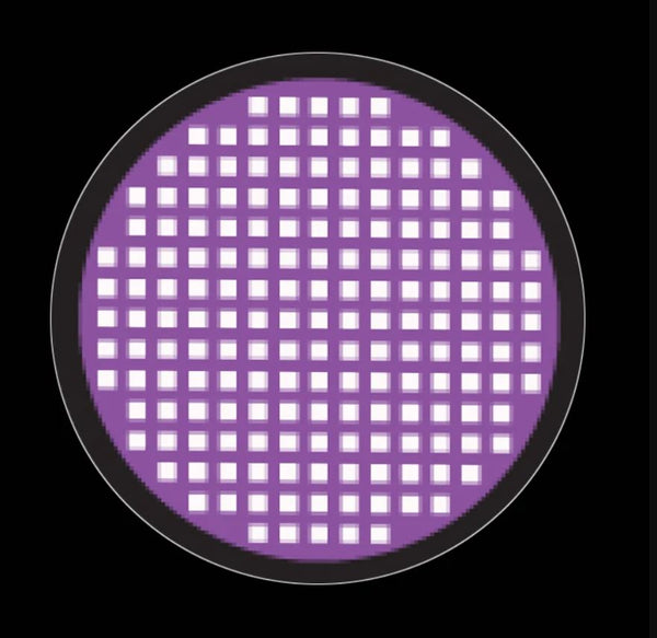 Urban Layer Violet Mesh Contact Lenses (1 Pair)