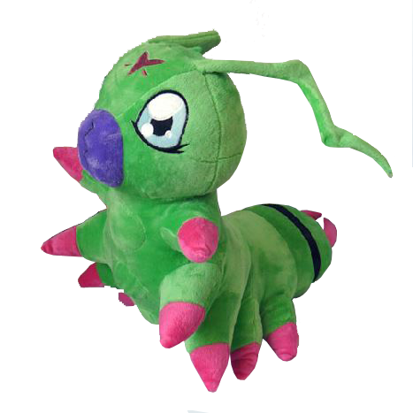 Digimon 15-Inch Wormmon Plush