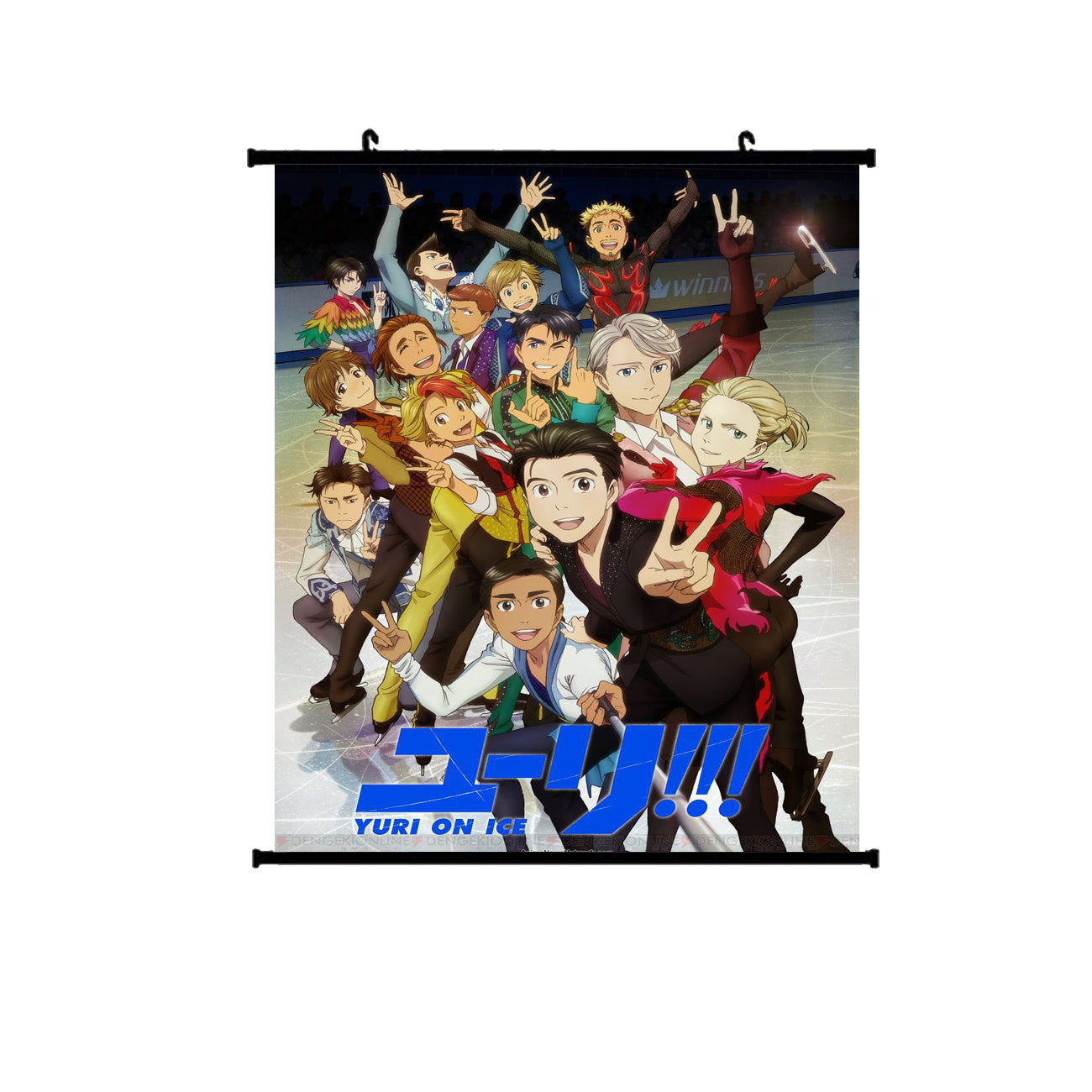Yuri!!! ON ICE Wallscroll