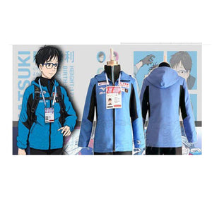 Yuri!!! On Ice Yuuri Katsuki Jacket Cosplay