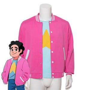 Steven Universe Future Steven Universe Cosplay Costume (Bomber Jacket and T-Shirt)