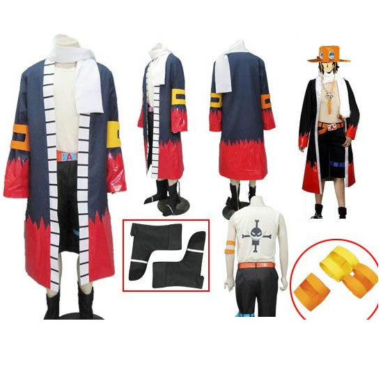 One Piece Ace Cosplay Costume