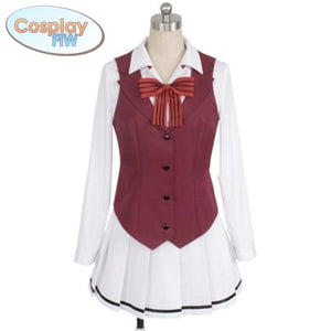 Anime Boarding School Juliet Komai Hasuki Cosplay Costume