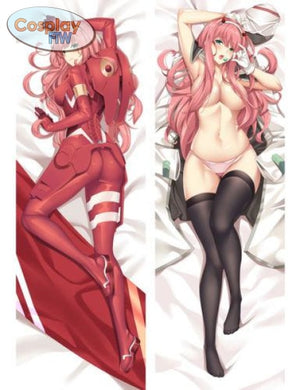 Anime Darling In The Franxx 02 Zero Two Body Pillow (Pillow Case Only) A(105X40Cm) Body Pillow