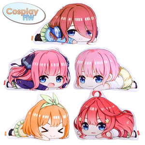 Anime The Quintessential Quintuplets Plush Pillows / Go Toubun No Hanayome Plush