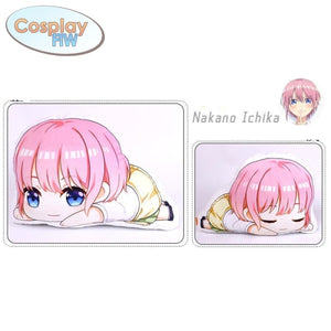Anime The Quintessential Quintuplets Plush Pillows / Go Toubun No Hanayome Ichika Nakano Standard