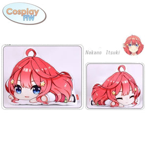 Anime The Quintessential Quintuplets Plush Pillows / Go Toubun No Hanayome Itsuki Nakano Standard