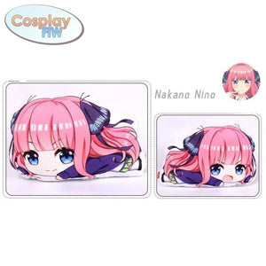 The Quintessential Quintuplets Plush Pillows / Go Toubun No Hanayome Nakano Nino