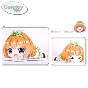 Anime The Quintessential Quintuplets Plush Pillows / Go Toubun No Hanayome Yotsuba Nakano Standard
