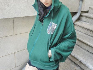 Attack on Titan Survey Corps Cloak Pullover Hoodie