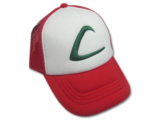 Pokemon Ash Ketchum Hat (Generation 1)