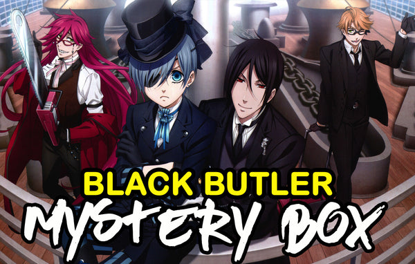 Black Butler / Kuroshitsuji Anime Mystery Box | Anime Mystery Box | Fast Shipping (Limited Quantities)