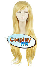 80cm Long Blond Cosplay Wig