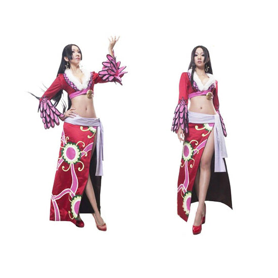One Piece Boa Hancock Cosplay Costume