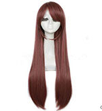 80cm Long Brown Cosplay Wig
