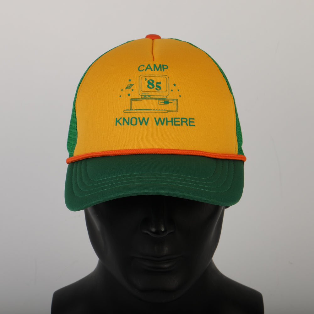 Stranger Things 3 'Camp Know Where' Dustin Snapback Baseball Cap