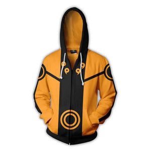 Naruto Shippuden 3D Printed Cosplay Hoodie