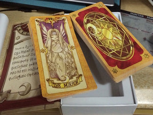 Card Captor Sakura Clow Book and Complete Card Set *RARE*