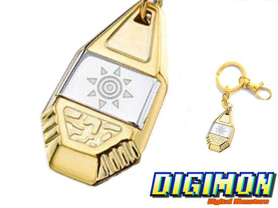 Digimon Crest of Courage Keychain