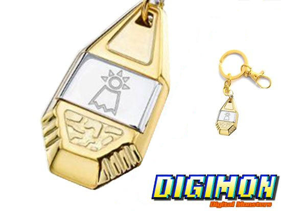 Digimon Crest of Love Keychain