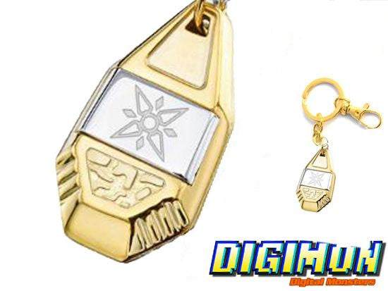 Digimon Crest of Light Keychain