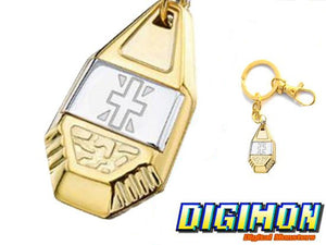Digimon Crest of Reliability Keychain