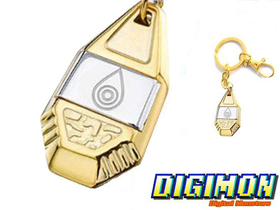 Digimon Crest of Sincerity Keychain
