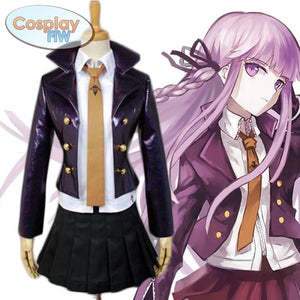 Danganronpa: Trigger Happy Havoc Kyoka Kirigiri Cosplay Costume Full Set / L Costume