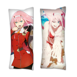 Darling In The FRANXX Zero Two Body Pillow / Zero Two Dakimakura