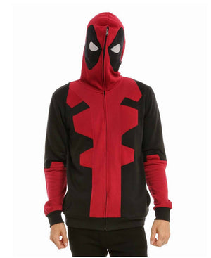 Marvel Deadpool Zip-Up Hoodie