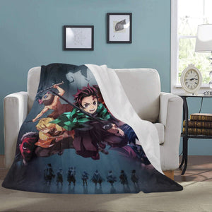demon slayer blanket