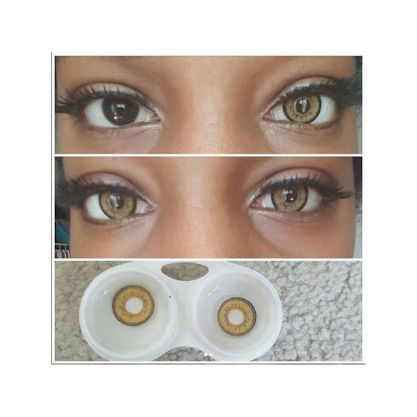 EOS Dolly Eye Brown Circle Lens / Contact lenses