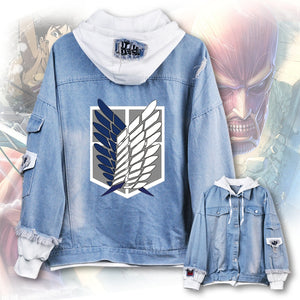 Attack on Titan Survey Corps Denim Jacket