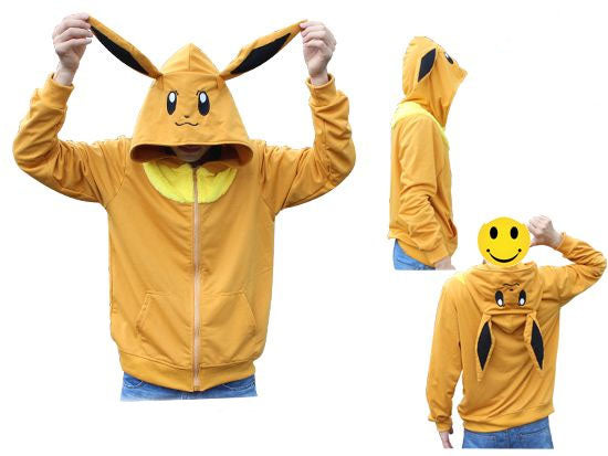 Pokemon Eevee Zip-Up Hoodie