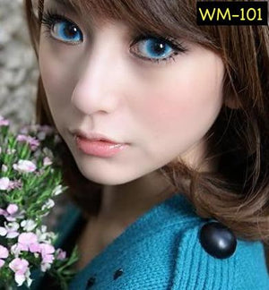 EOS Bubble Blue Contact Lenses