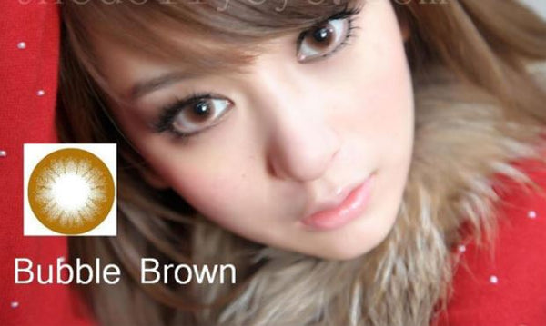 EOS Bubble Brown Contact Lenses