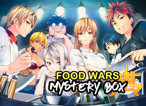 Food Wars / Shokugeki No Souma Anime Mystery Box | Anime Mystery Box | Fast Shipping (Limited Quantities)