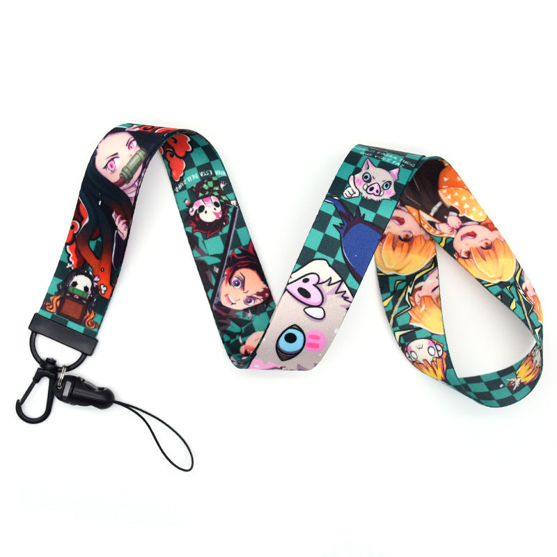 Demon Slayer Lanyard