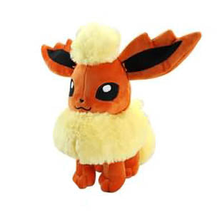 "Pokemon 12"" Flareon Plush"