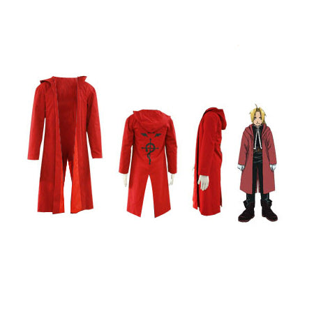 Full Metal Alchemist Edward Elric Cosplay Costume
