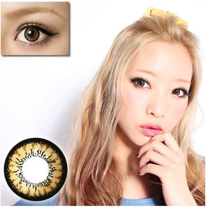 Geo Angel Brown Contact Lenses