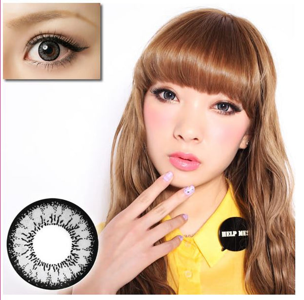 Geo Angel Grey Contact Lenses