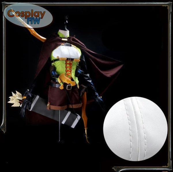Goblin Slayer High Elf Archer Cosplay Costume / Costume