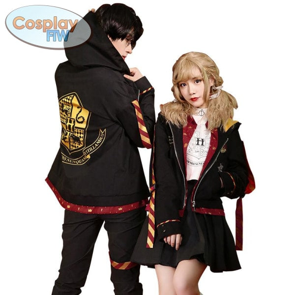 HARRY POTTER COSPLAY Gryffindor CASUAL HOGWARTS CAMPUS ...