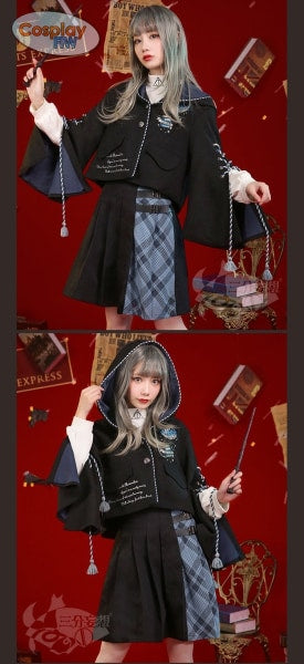 Harry Potter Cosplay Ravenclaw Casual Hogwarts Campus Clothing Costume Costume