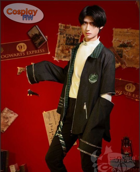 Harry Potter Cosplay Slytherin Casual Hogwarts Campus Clothing Costume Costume