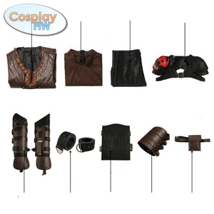 How To Train Your Dragon 3: The Hidden World Cosplay Hiccup Costume Male Costume
