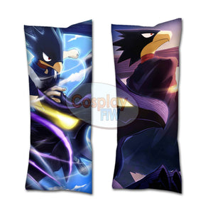 My Hero Academia Fumikage Tokoyami Body Pillow // BNHA Pillow // Anime Dakimakura // Valentines Day Gift// Anime Gift Idea